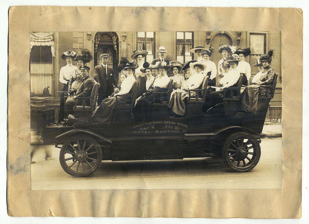 1910 new york bus