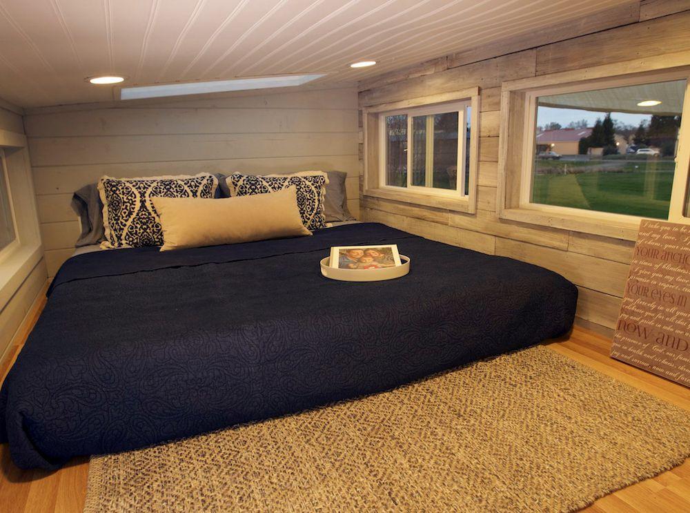 Tiny house sleep loft