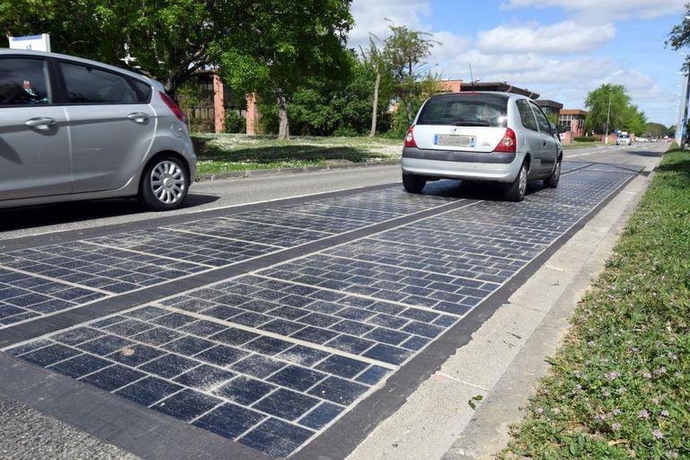 Carretera solar francesa declarada