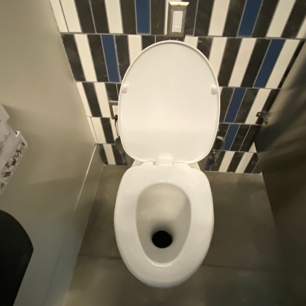 Clivus Multrum foam toilet