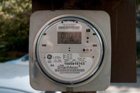 PGE smart meter photo