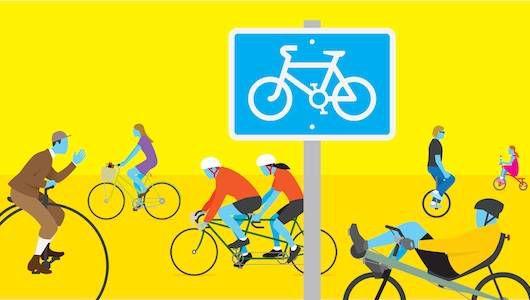 Guía de ciencia pop de la madre naturaleza para el ciclismo
