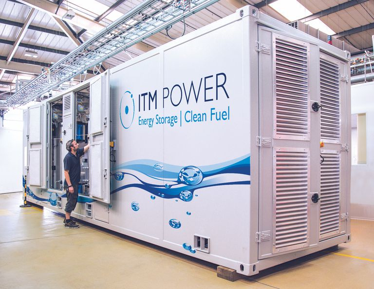 ITM power storage