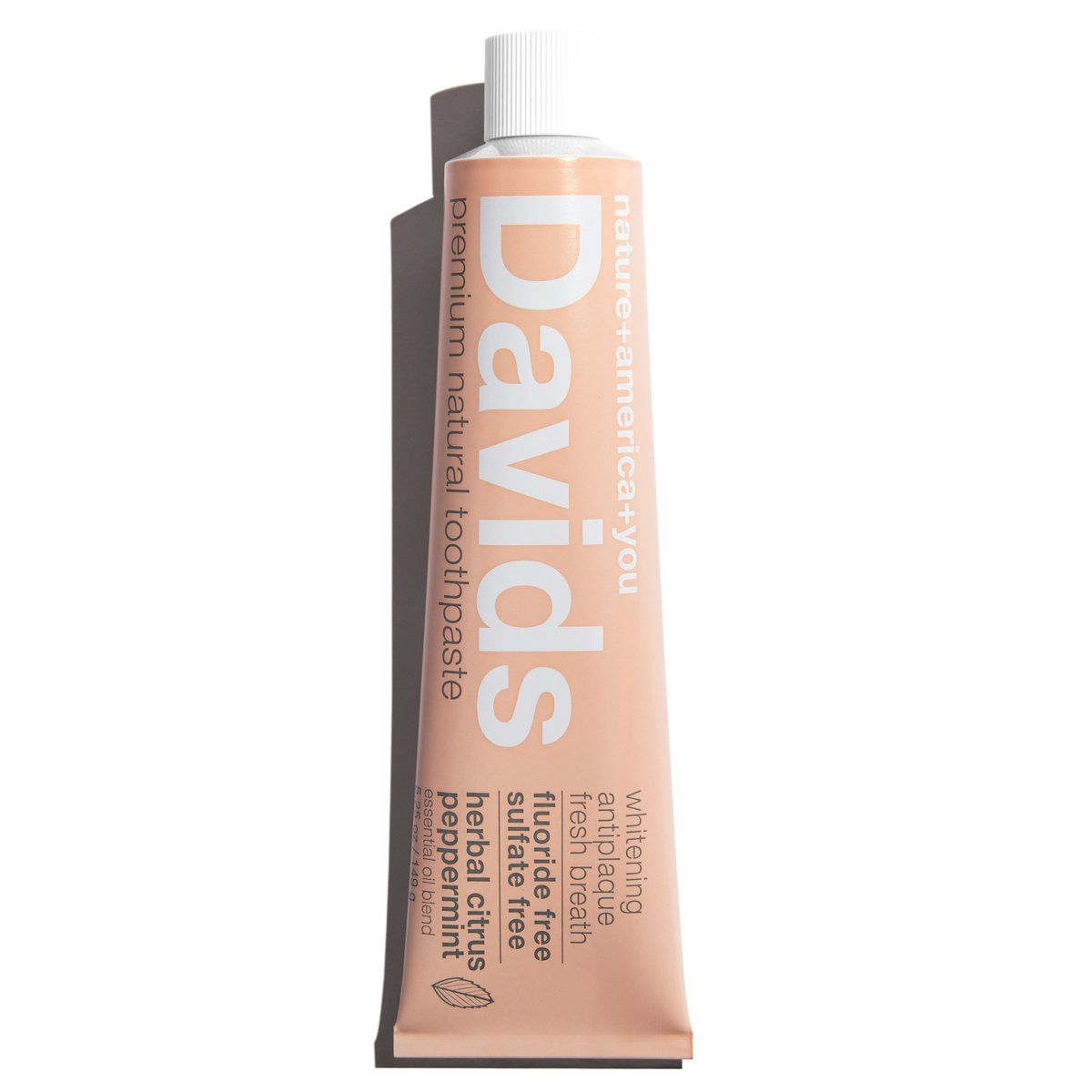Davids Herbal Citrus Peppermint Toothpaste