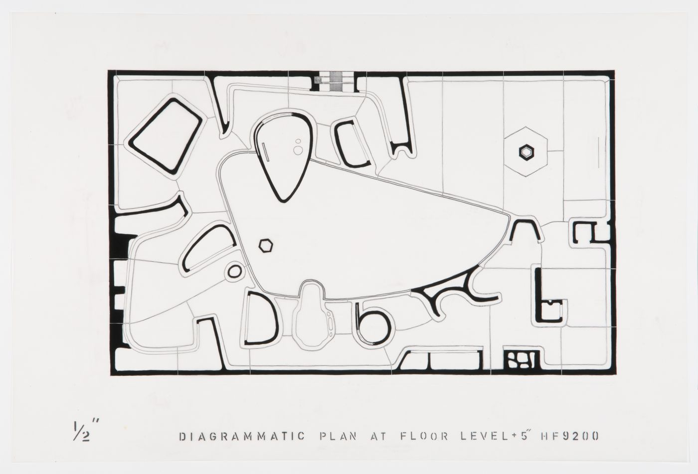 Floor plan for the