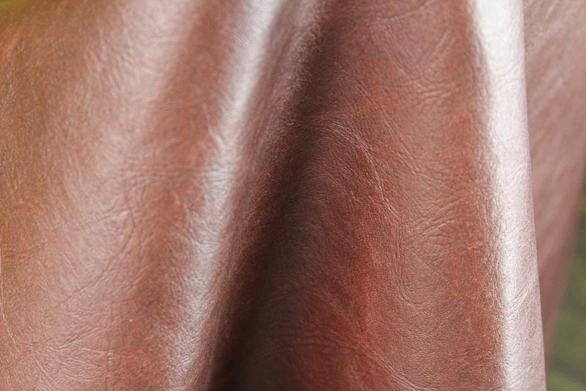 enspire leather closeup