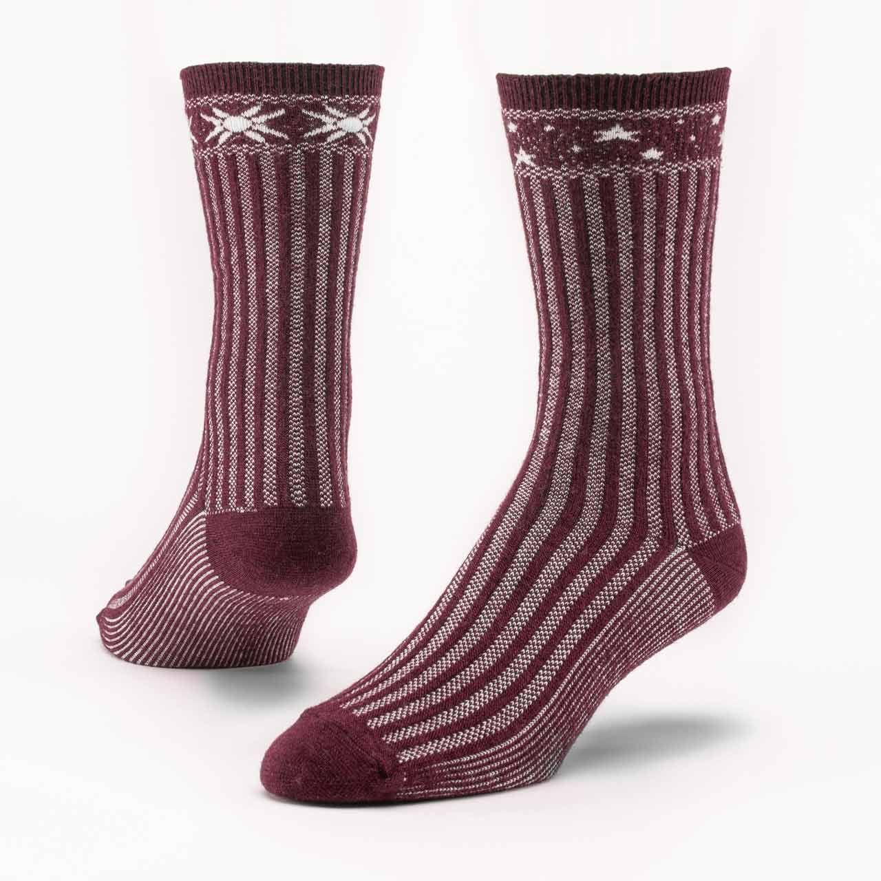 Maggie's Organics Organic Wool & Cotton Celestial Sweater Sock