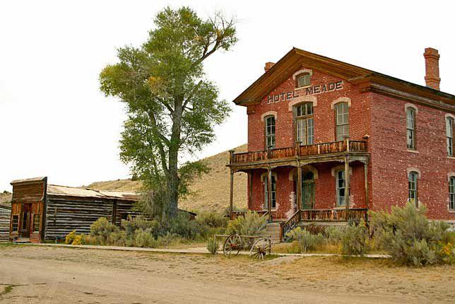 Hotel Meade, Bannack, Montana