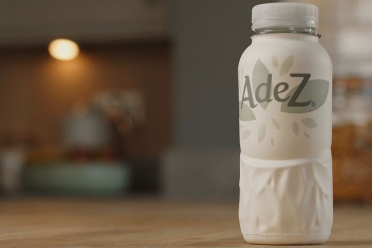 Coca Cola paper bottle