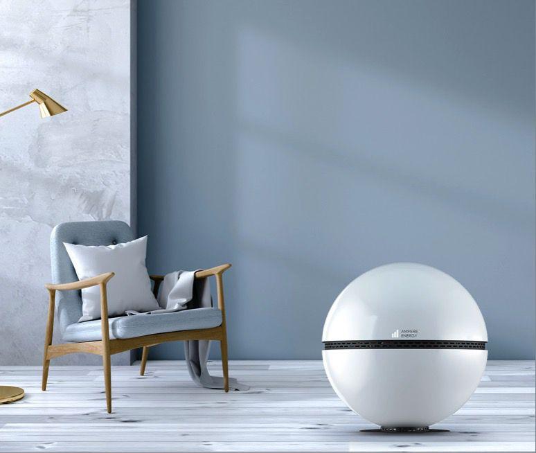 Sphere in Living Room
