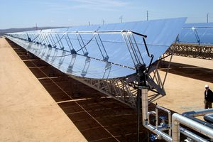 Solar steam power