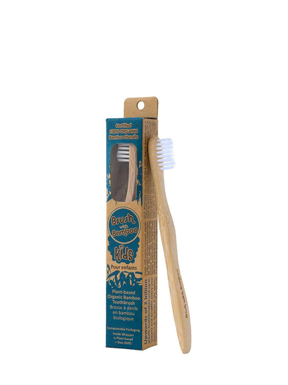 Brush With Bamboo Kids Toothbrush
