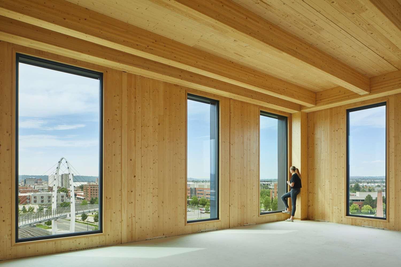 Catalyst building interior