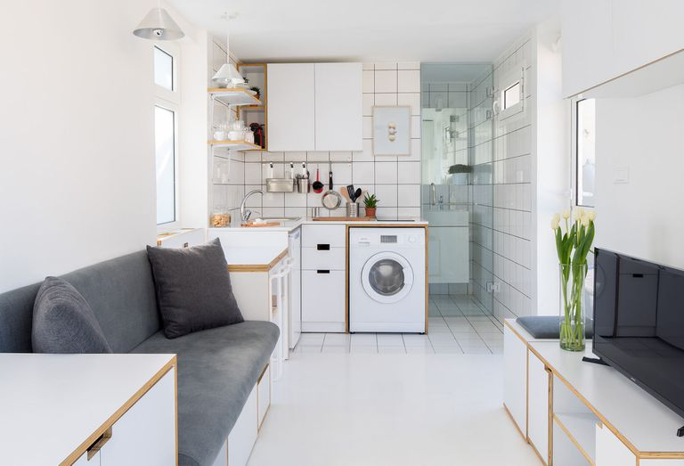 The Shoebox micro-apartment by Elie Metni interior
