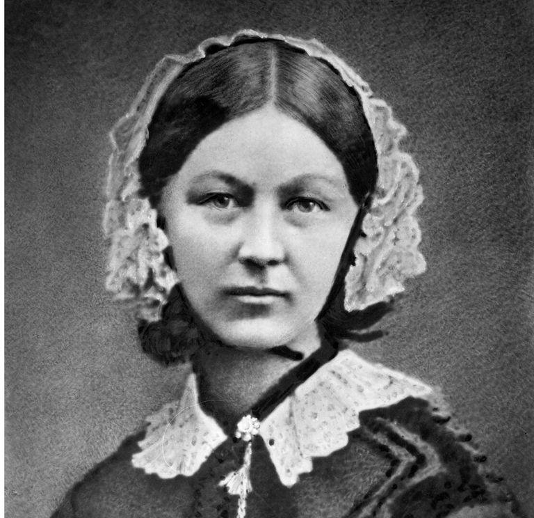 Florence Nightingale Photo by Henry Hering