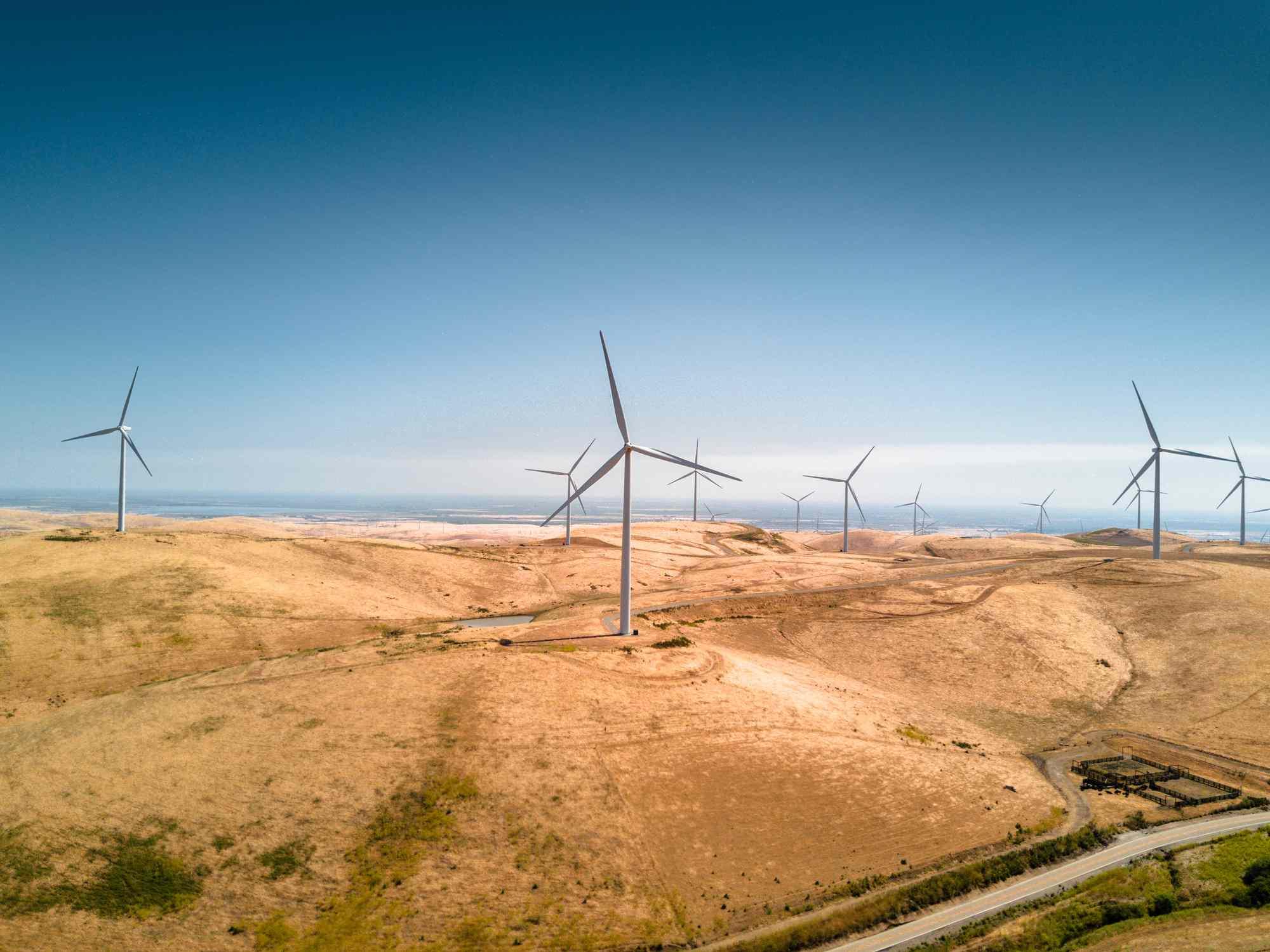 Water-Producing Wind Turbines