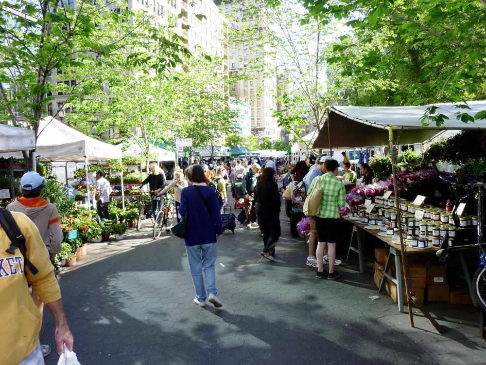 Farmers' Market in New York City