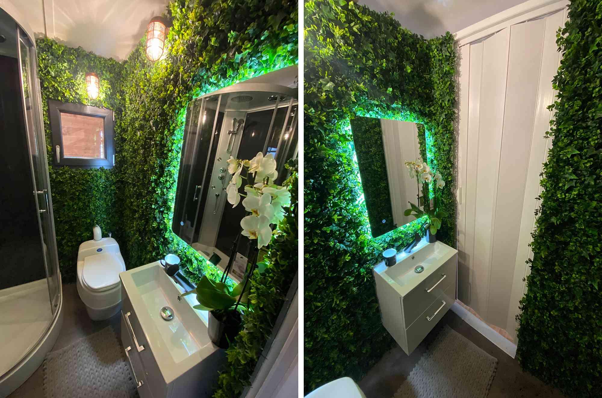 Dejessi tiny house by Tiny House Tarentaise bathroom