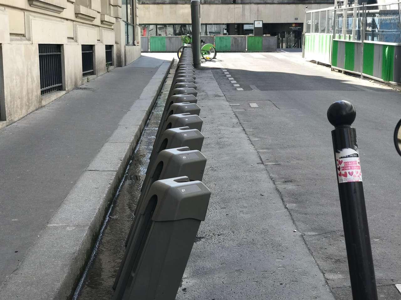 Velib bike system