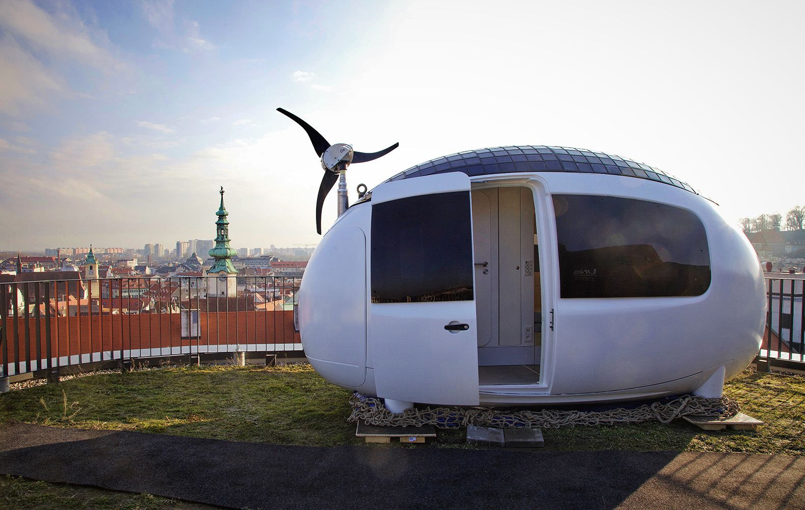 The Ecocapsule, the Egg-Shaped Tiny Home That Can Go Off-Grid and Off-Pipe, Is Real!