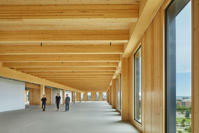 Interior of Catalyst building