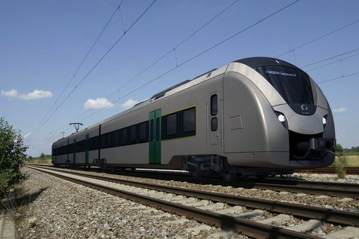 Alstom electric train