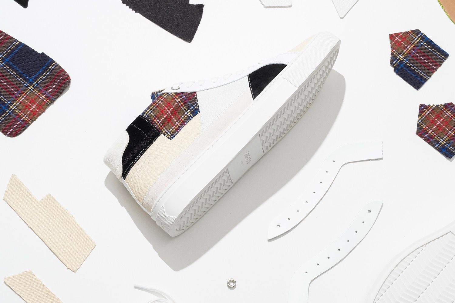 Greats Royale High Patchwork shoe