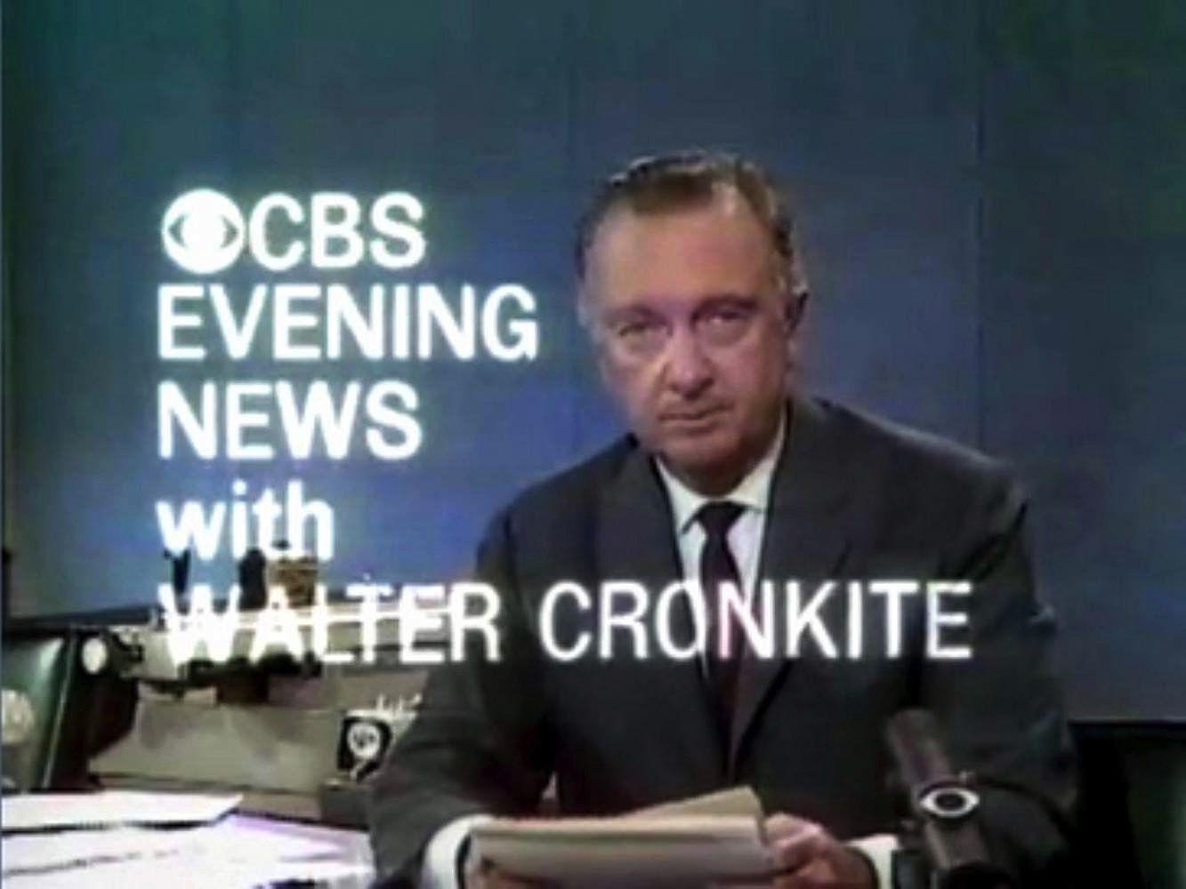 Walter Cronkite and the CBS News