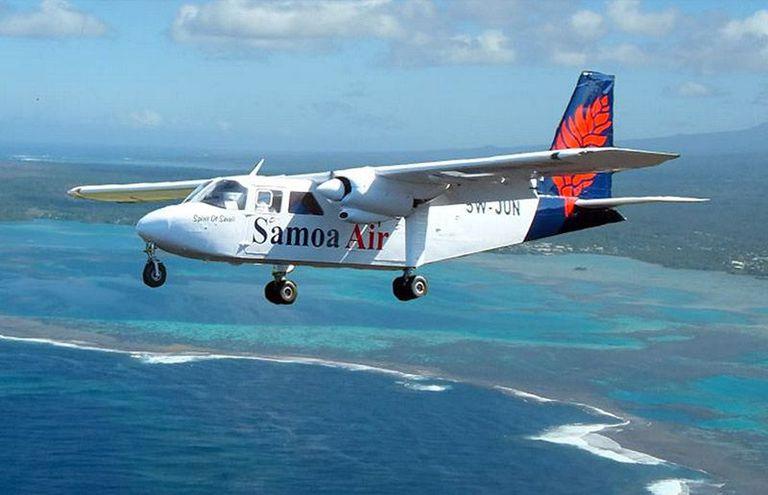 Samoa Air plane photo