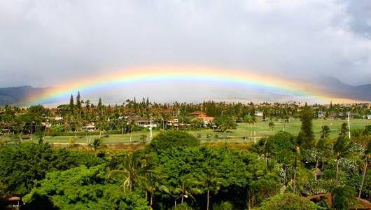 ¿Qué es exactamente un arco iris?
