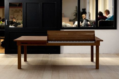 georg bohle piano dining room table photo