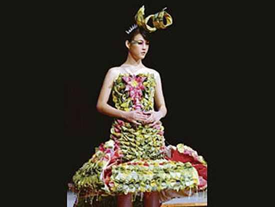 Suraya Mohd Zairin teabag dress