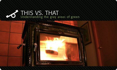 pellet stove vs wood stove which greener