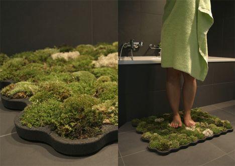 moss bath mat photo