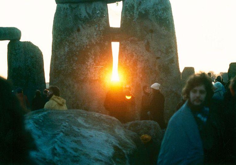 Solstice in Stonehenge