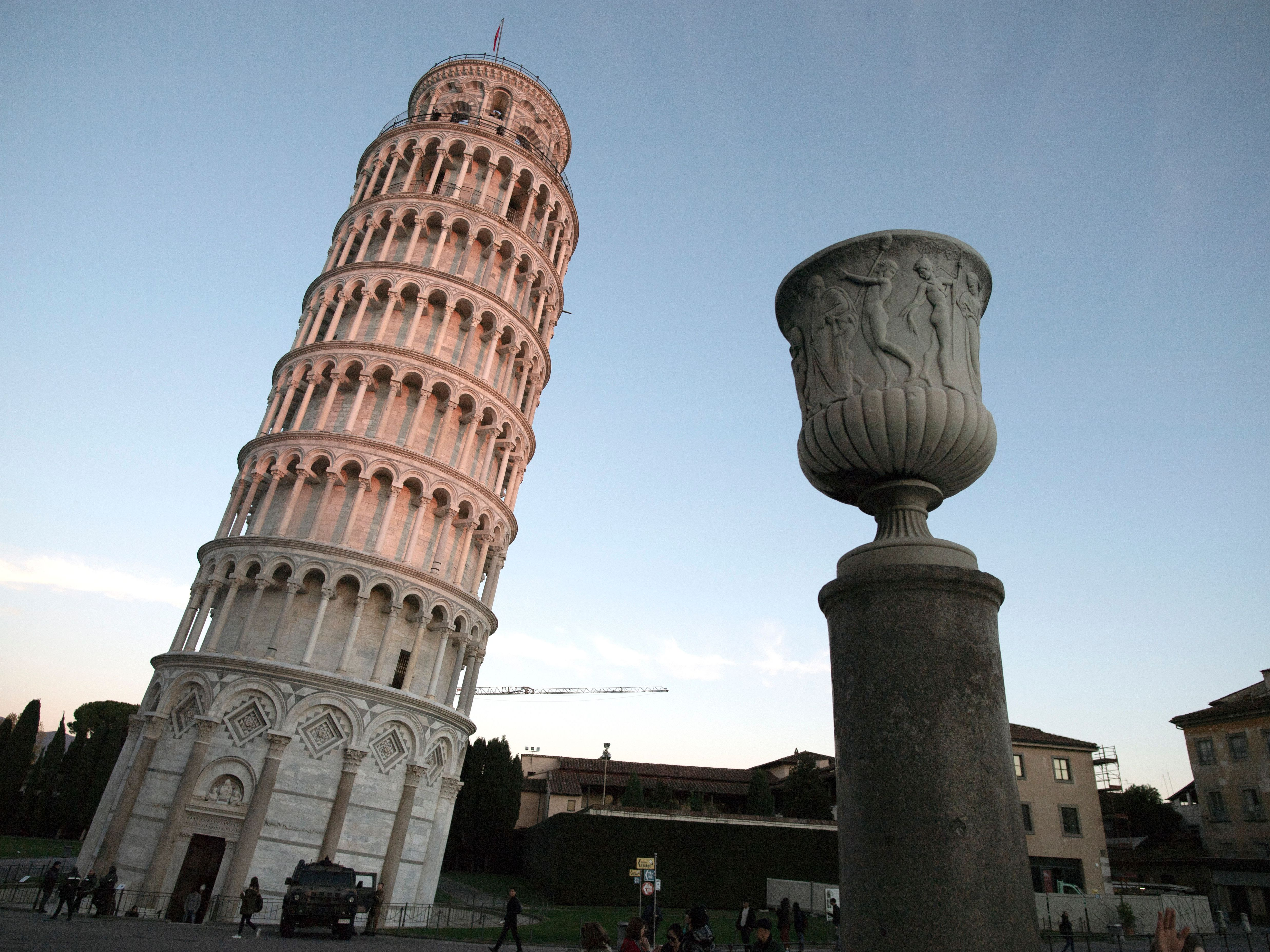 The Leaning Tower Of Pisa Is Leaning A Bit Less These Days