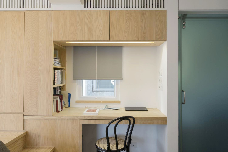 micro apartment renovation Design Eight Five Two desk