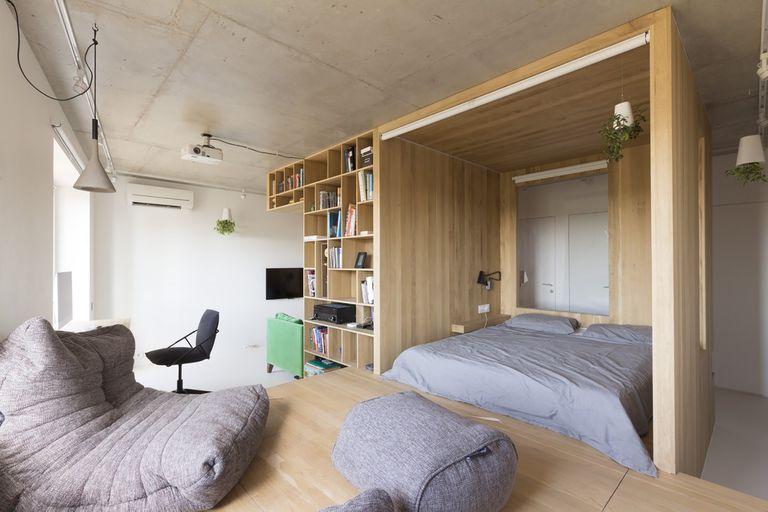 Gorki small apartment renovation Ruetemple
