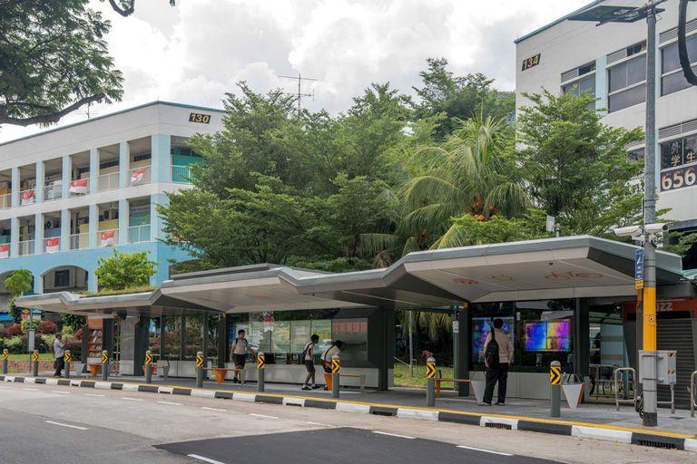Esta parada de autobús de Singapur es la mejor parada de autobús