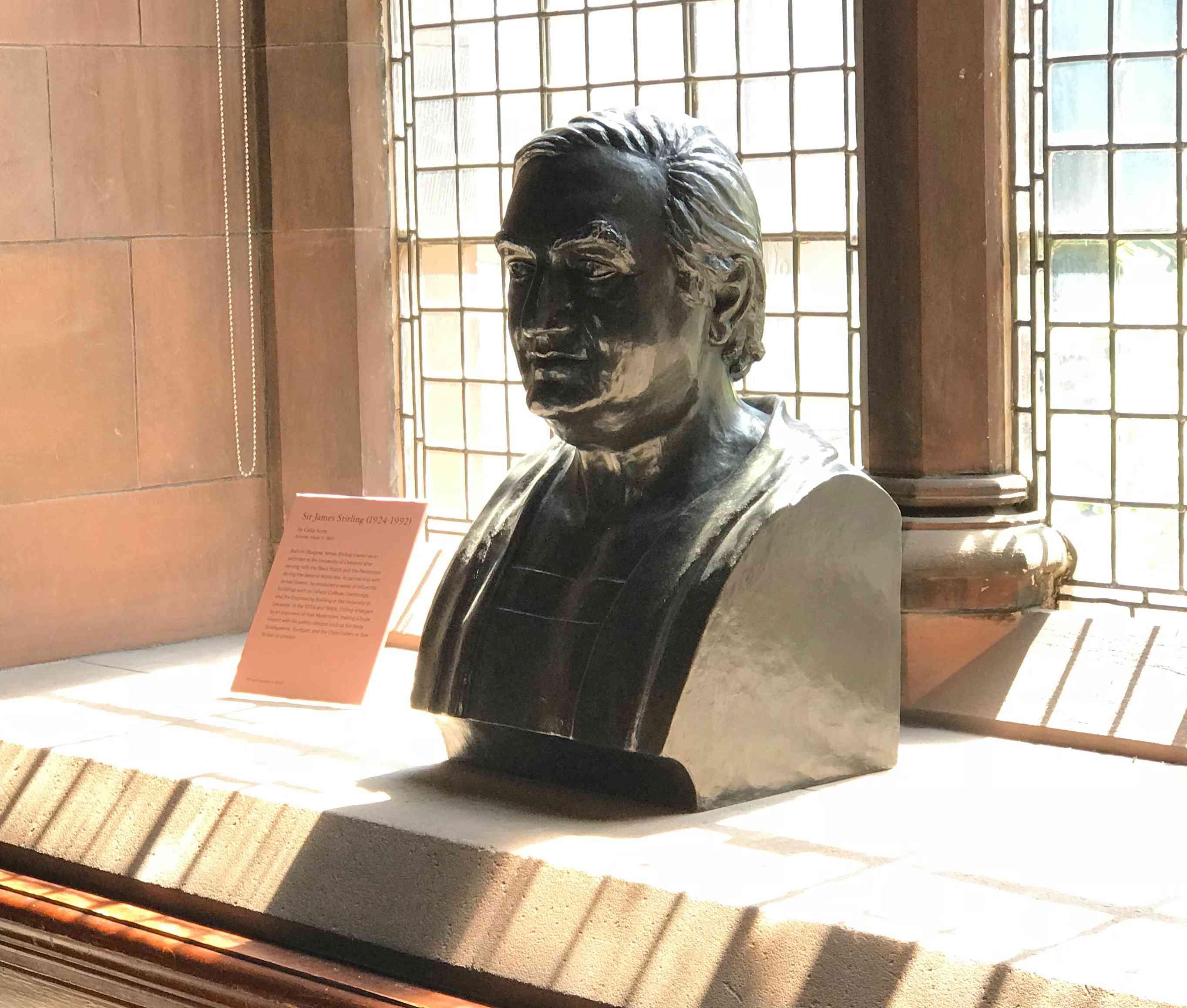 Bust of James Stirling