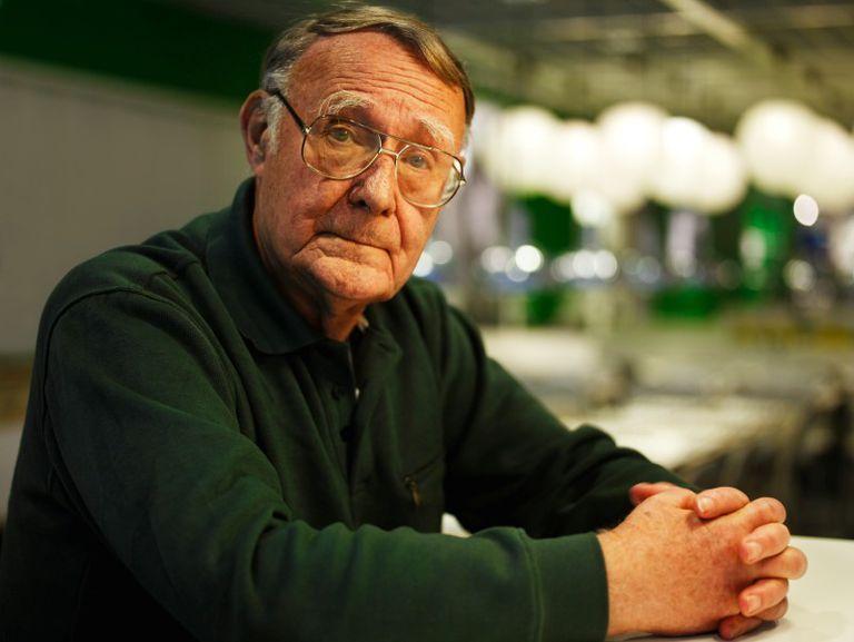 En alabanza a la inquebrantable frugalidad del fundador de IKEA, Ingvar Kamprad