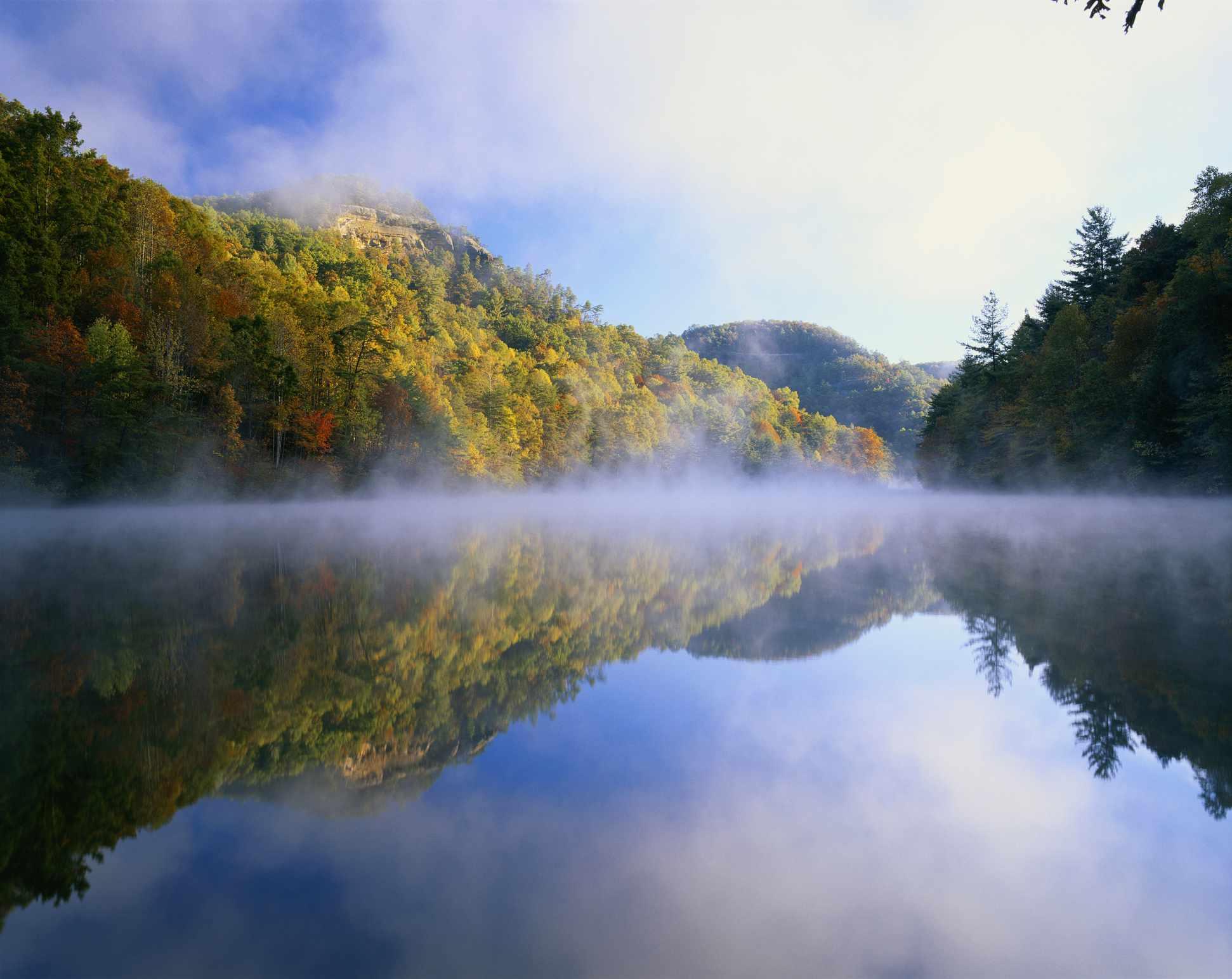 Daniel Boone National Forest in Kentucky