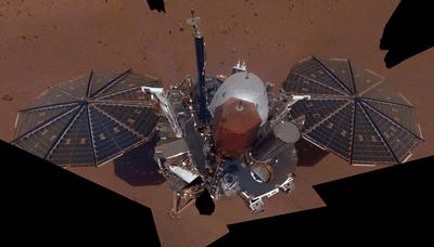 NASA InSight first selfie