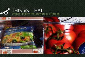 canned versus frozen veggies image