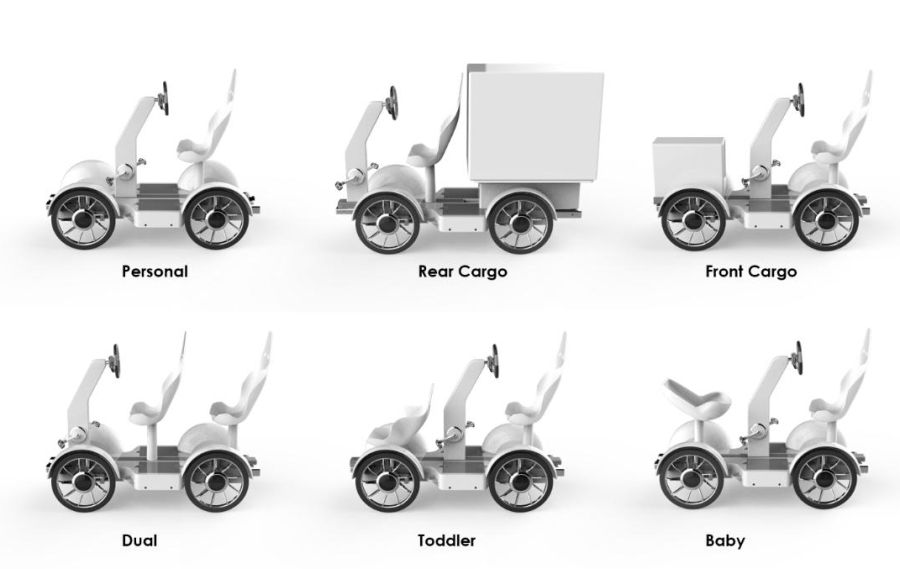 Hybrid Module Mobility concept
