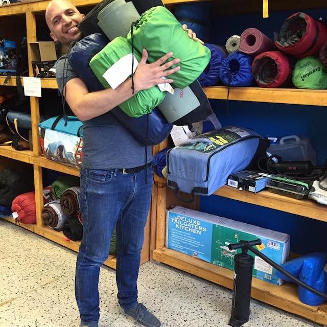 The Sharing Depot camping gear