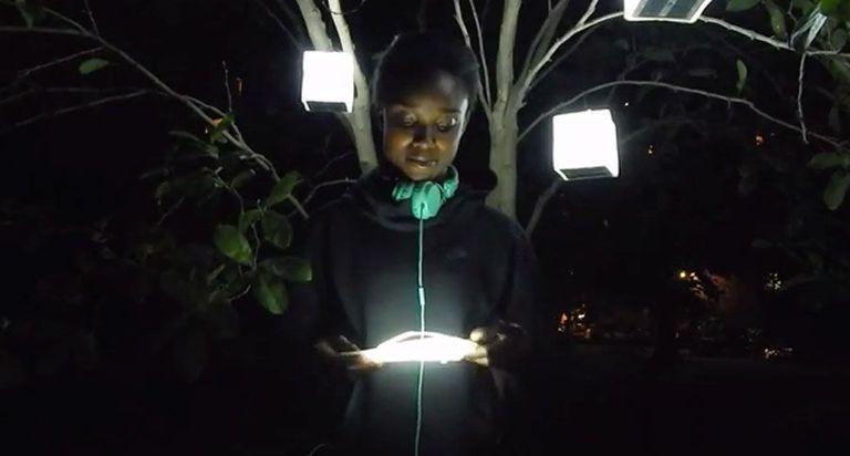 SolarPuff lantern