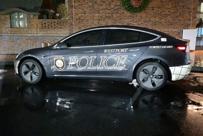 The Westport car in full police livery.