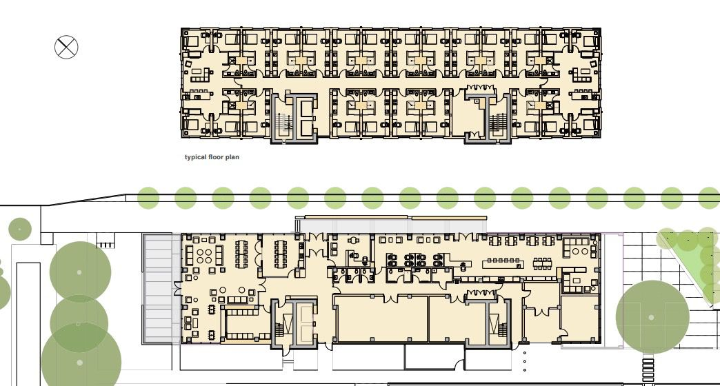 plans of units wood tower