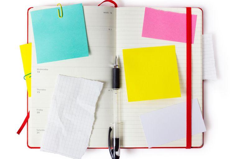 Moleskine weekly planner notebook